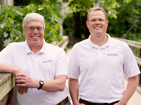 Our Dentists: Dr. David A. Page - Dentist and Dr. Michael S. Page - Dentist
