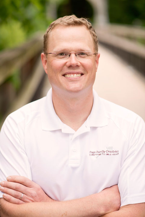 Dr Michael S. Page, Dentist, with Page Family Dentistry for 5 years, attended the University of Minnesota – School of Dentistry, Bachelor of Arts in Philosophy from the University of Wisconsin – Madison, born and raised in River Falls, WI.
